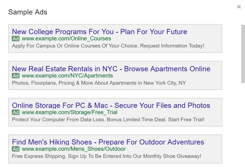adwords-sample-ads-preview-e1473428764740-800x548